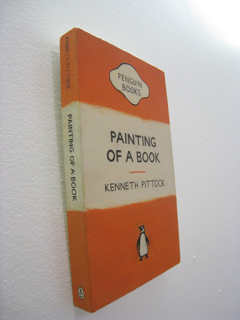 KennyPittock_ Painting of a book