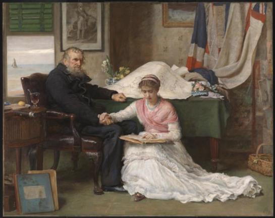 The North-West Passage 1874 by Sir John Everett Millais, Bt 1829-1896